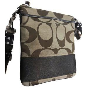 COACH Kitt Crossbody Canvas Bag